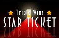 Игровой автомат на реальные деньги Triple Wins Star Ticket
