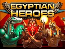 Играть в казино на реальные деньги и в демо в слоте Egyptian Heroes